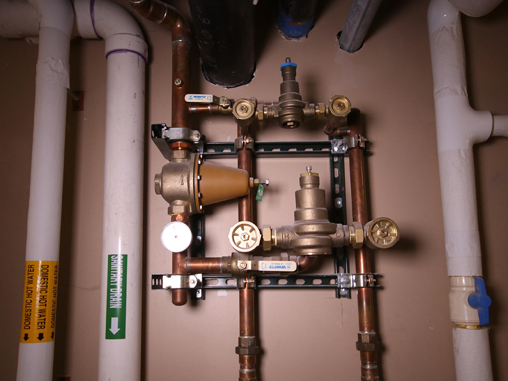 Curtiss Hotel Plumbing System