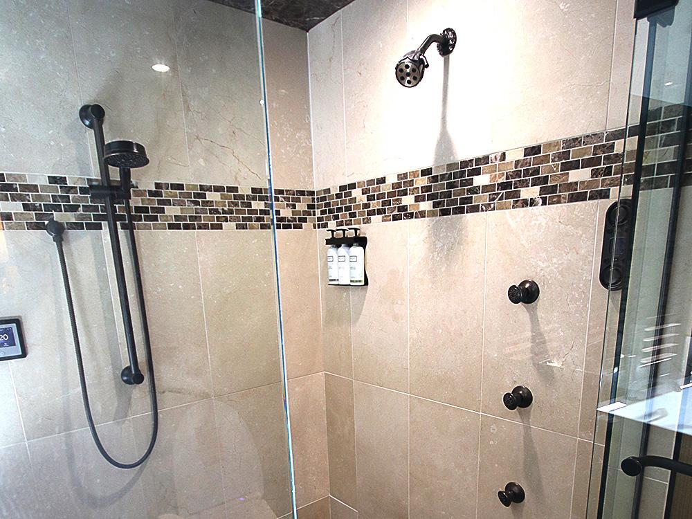 Curtiss Hotel Shower Buffalo NY