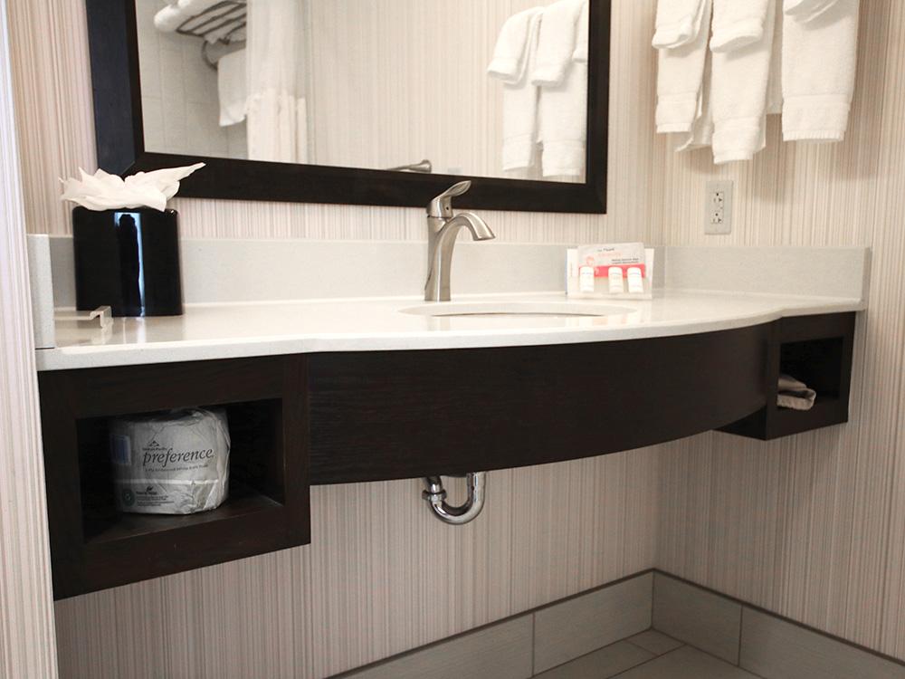 Hilton Bathroom Plumbing