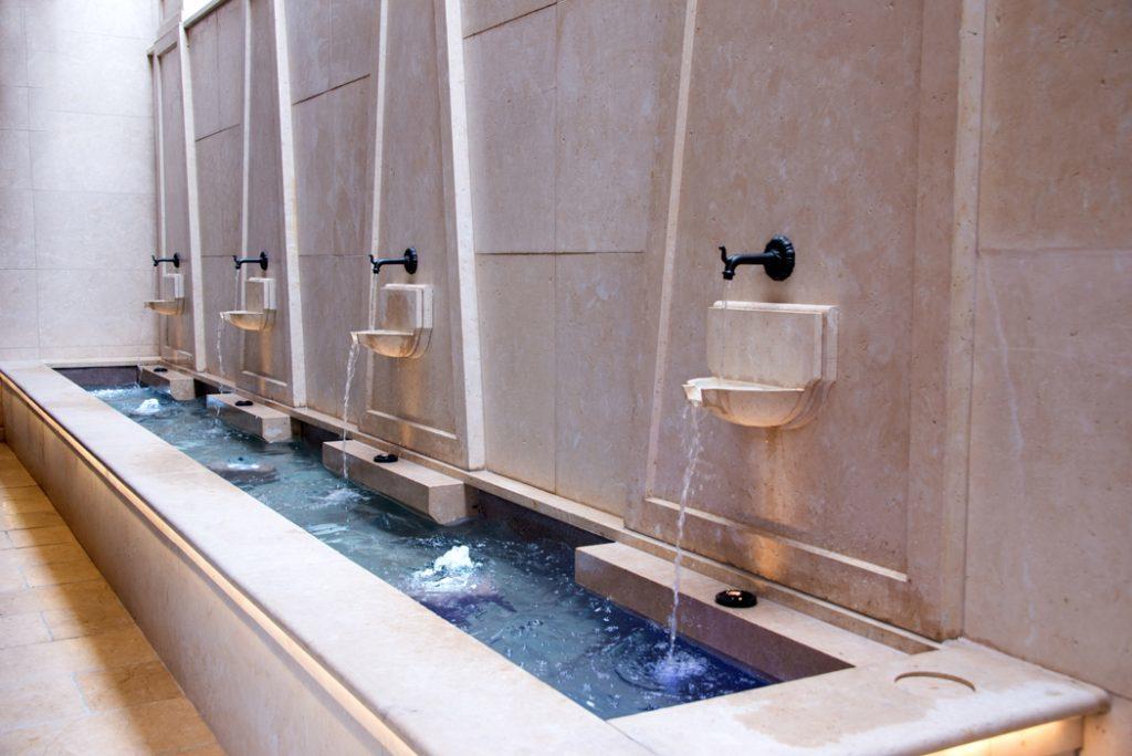 Curtiss Hotel Fountain Buffalo NY
